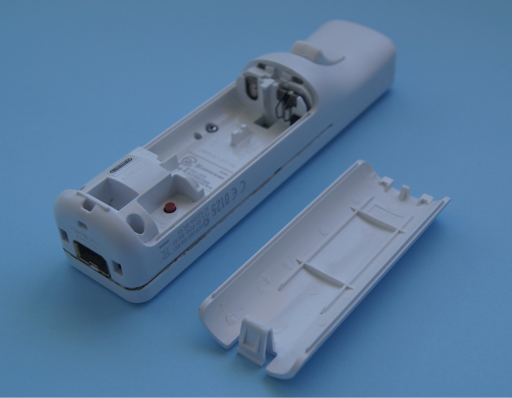 Wii remote made of ABS plastic