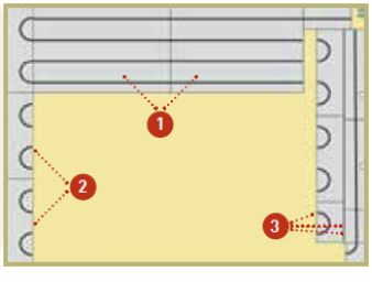 Vérification avant pose plancher chauffant Caleosol classique