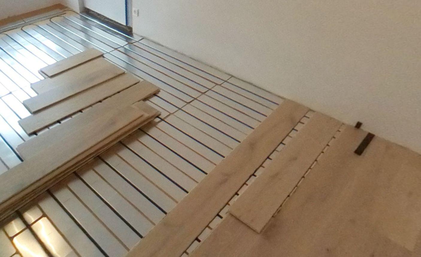 Plancher chauffant par caleosol - Parquet sur plancher chauffant ...
