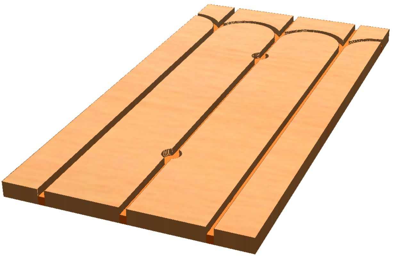 Isolant pour plancher chauffant rafraîchissant Caleosol Tradi