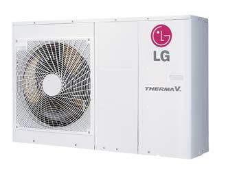 PAC pompe à chaleur LG Therma V 5 KW air eau monobloc