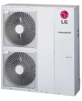 PAC pompe à chaleur LG Therma V 12 KW air eau monobloc