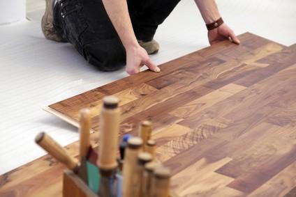 Pose de parquet flottant sur plancher chauffant