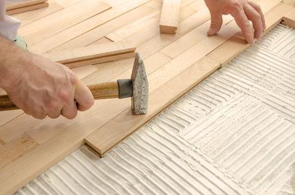 Installation plancher chauffant hydraulique: le parquet