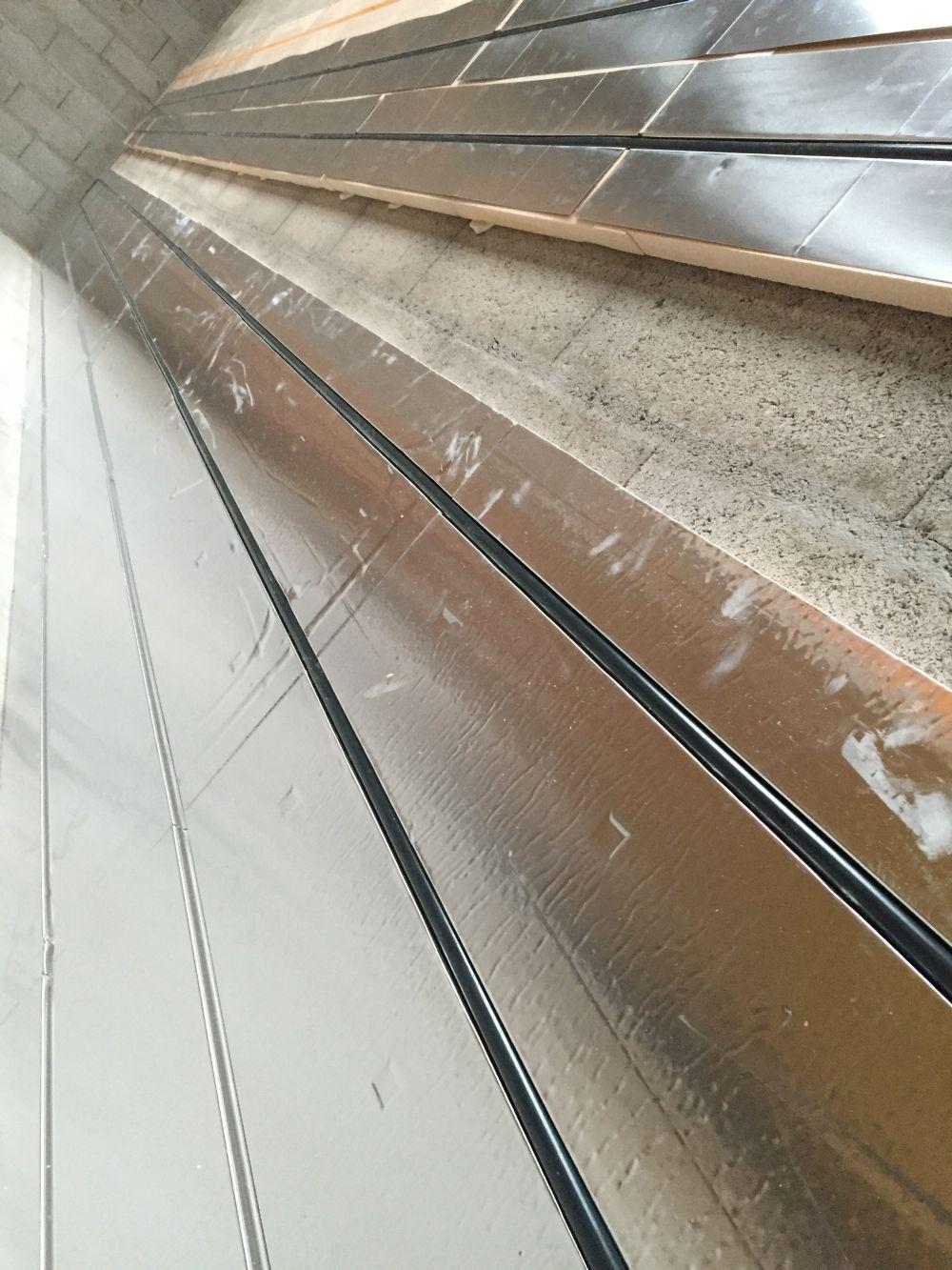 banc de test pour tuyau R978 giacomini de plancher chauffant