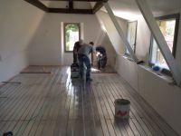 Pose plancher chauffant rafraîchissant Caleosol par Da Silva Gomes F. Agencement Neuchâtel - Peseux