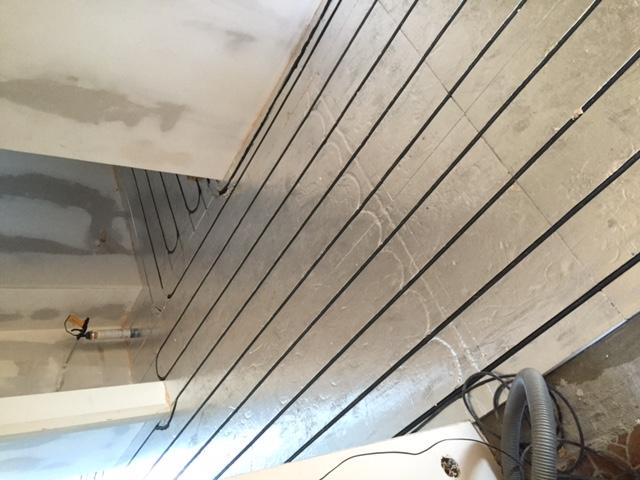 Pose plancher chauffant rafraîchissant Caleosol par A1 Solutions Montreux  Clarens
