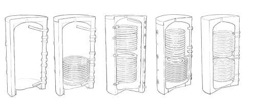 Gamme de ballons pour plancher chauffant et pompe à chaleur - 150 litres à 1000 litres
