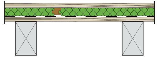 Le Plancher chauffant hydraulique sur plancher bois  se pose directement sur le plancher posé sur solives.