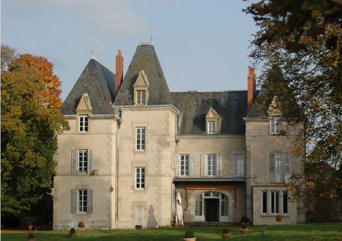 Rénovation chateau avec mur chauffant Caleosol