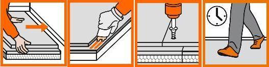 La chape plancher chauffant fermacell est très facile à poser