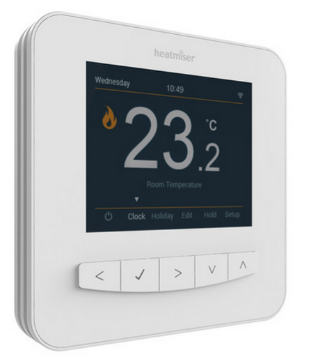 Thermostat internet pour plancher chauffant rayonnant
