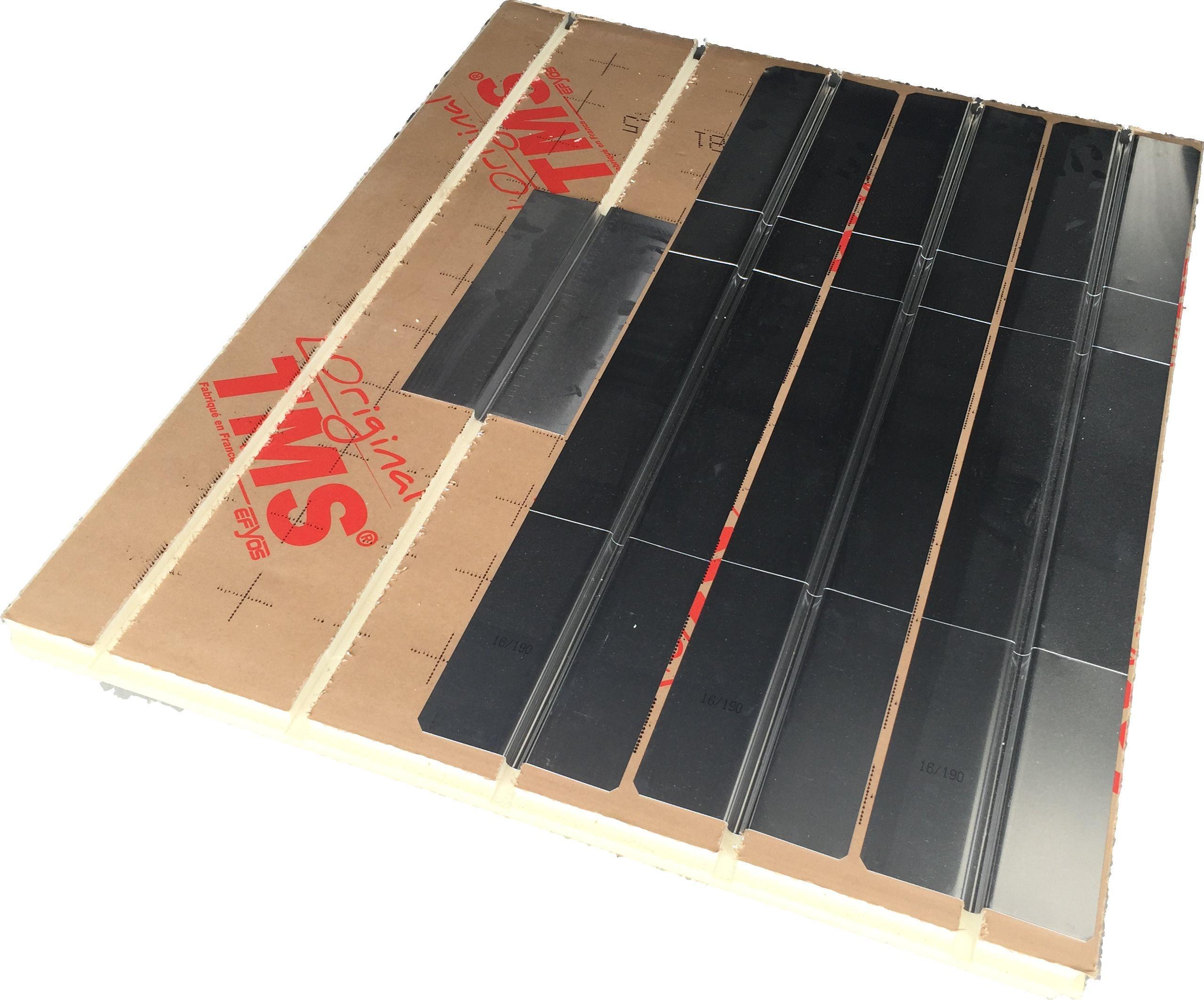 Dalle plancher chauffant Caleosol Tradi TMS 25mm