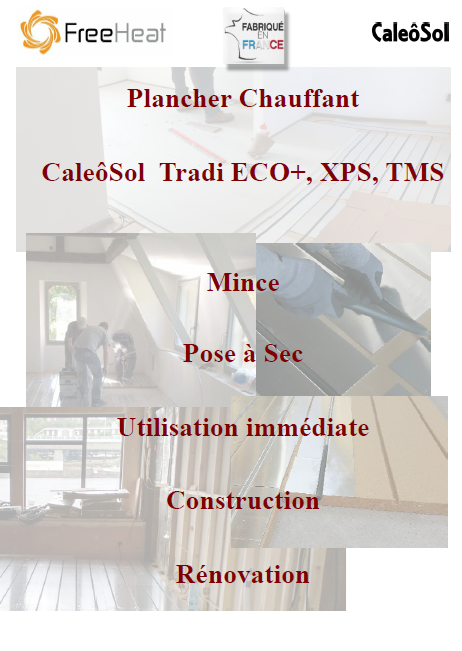 1 - Documents de référence PDF Plancher chauffant Caleosol Tradi