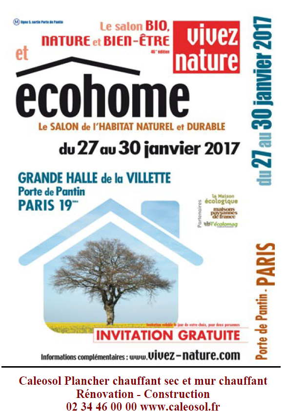 ECOHOME Paris Janvier 2017