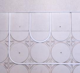 Plafond chauffant rafraîchissant rayonnant Caleosol Gypse 18 mm