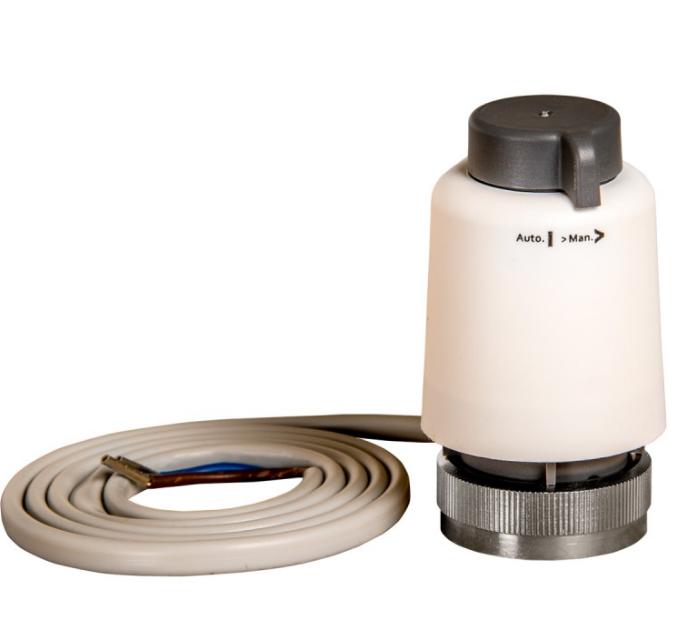 Actateur pour nourruce de plancher chauffant eau
