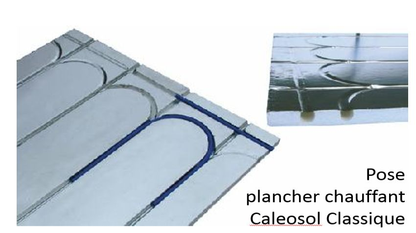 Guide de pose du plancher chauffant Caleosol Classique pour Tiny et small houses