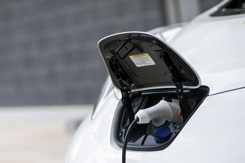 E-Carport photovoltaïque pour voiture électrique