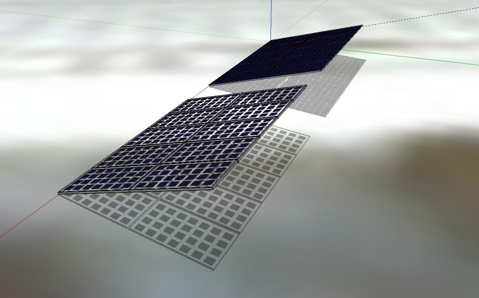 Option panneau solaire transparent pour pergola photovoltaïque