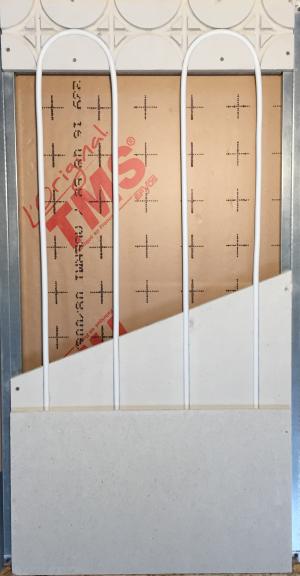 Aménagement des combles : le mur chauffant