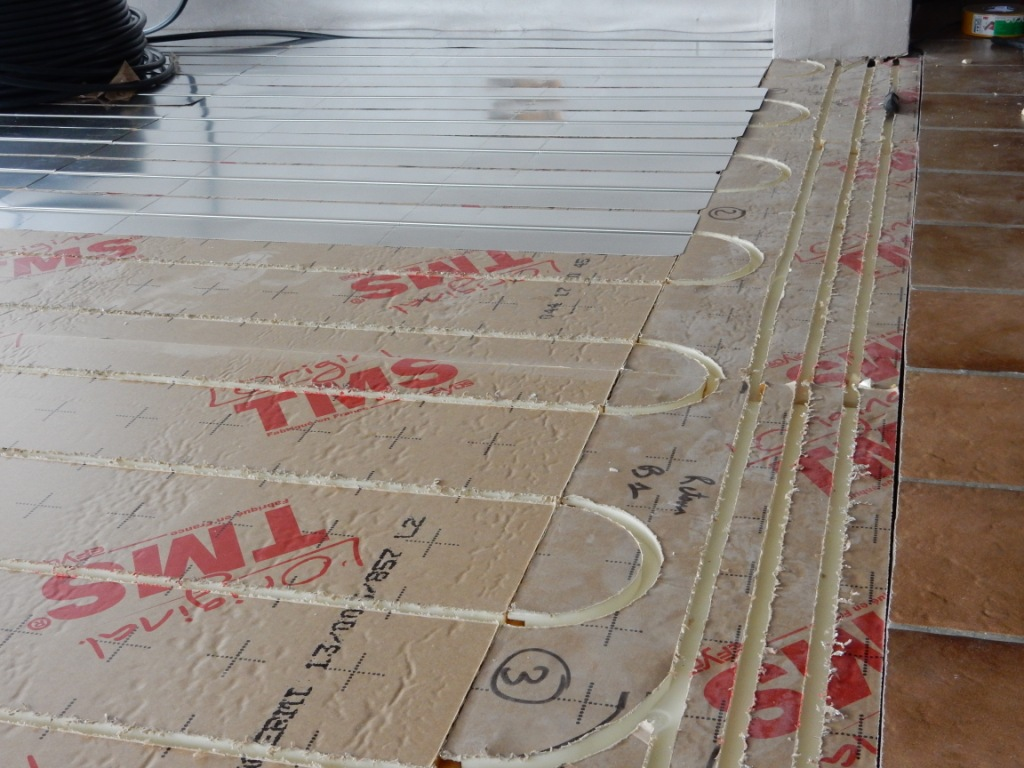 Plancher chauffant rénovation Tradi TMS