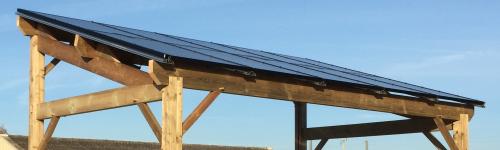 Ampera : la marque des abris en panneaux photovoltaïque de CaleoSolutions