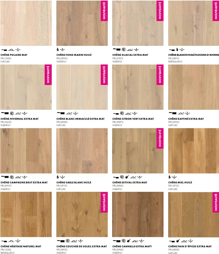 Finitions parquet Quick-Step Palazzo pour plancher chauffant (1/2)