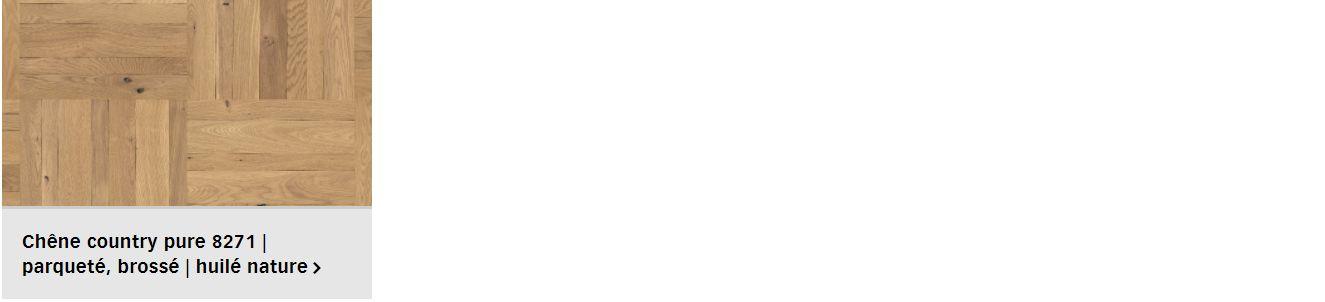 Finitions pour parquet Meister Style pour plancher chauffant (1/2)