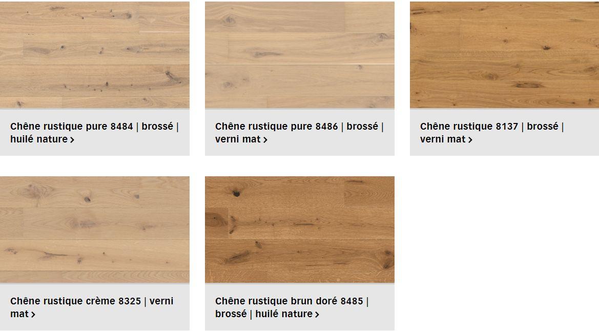 Finitions parquet Meister Classic pour plancher chauffant (1/3)