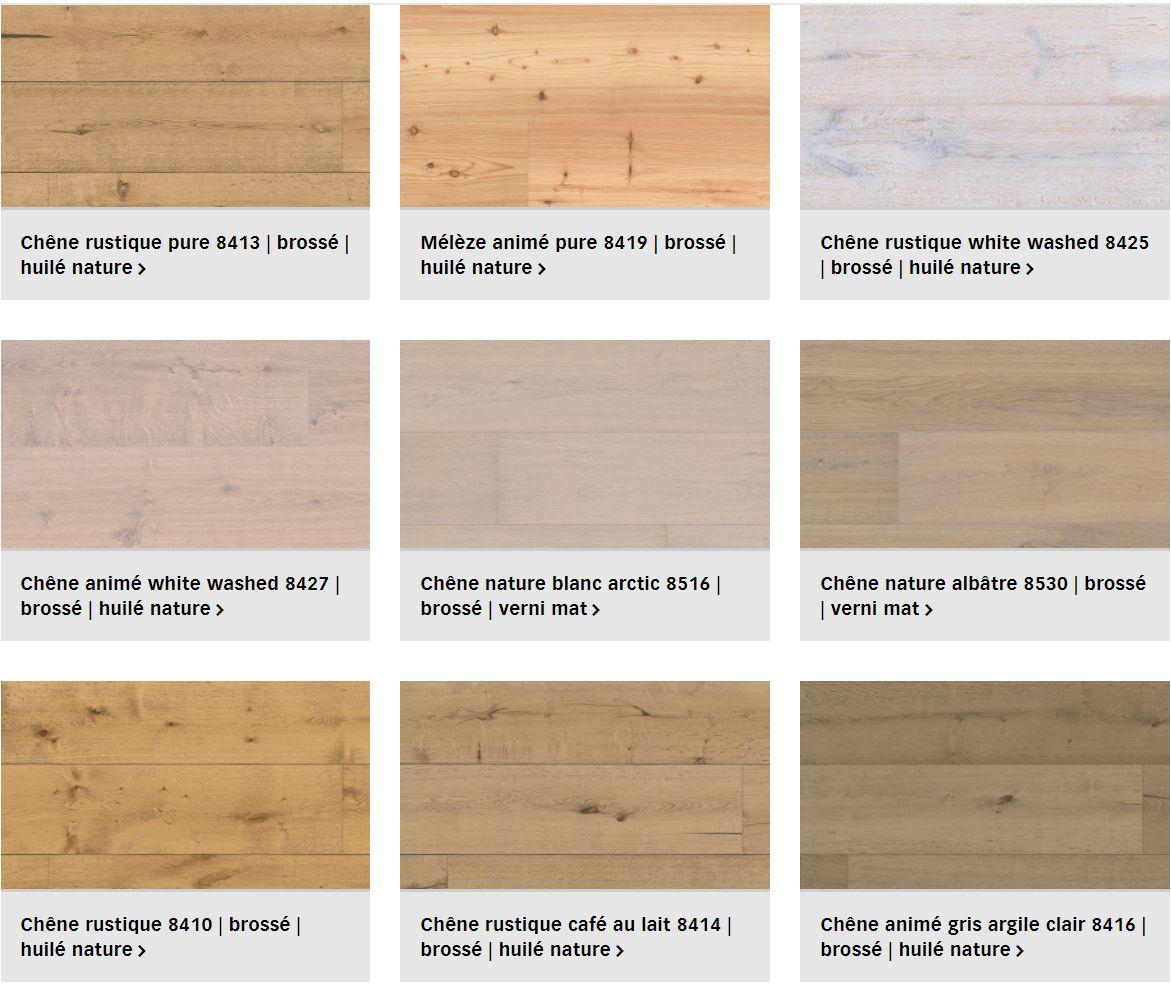 Finitions sol en bois Lindura pour plancher chauffant (1/3)