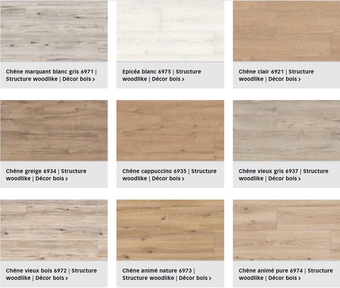 Finitions pour le sol design Tecara Meister pour plancher chauffant (1/2)