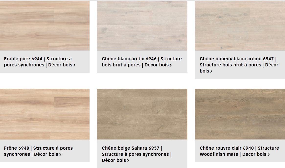 Finitions pour Sol Design Catega Flex Meister pour plancher chauffant (1/3)