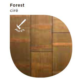 Finitions pour Moso Forest pour plancher chauffant