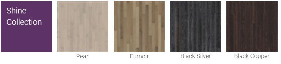 Finitions pour Parquet Kahrs Supreme Shine Collection pour plancher chauffant
