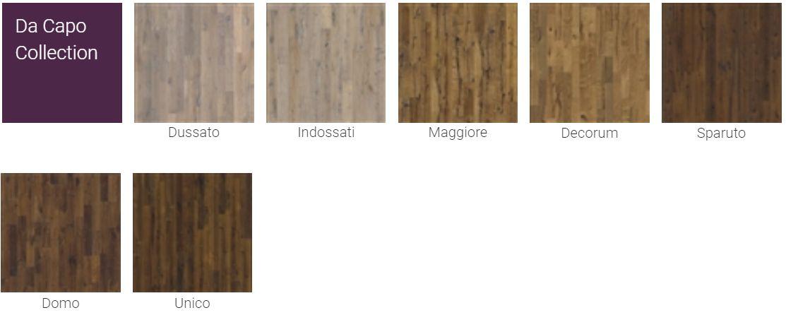 Finitions pour Parquet Kahrs Supreme Da Capo Collection pour plancher chauffant