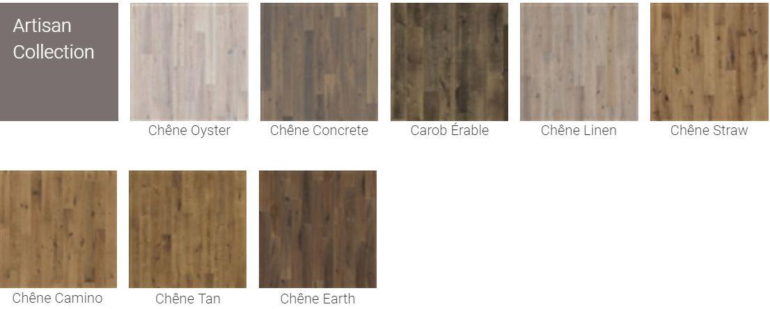 Finitions pour Parquet Kahrs Original Artisan Collection pour plancher chauffant