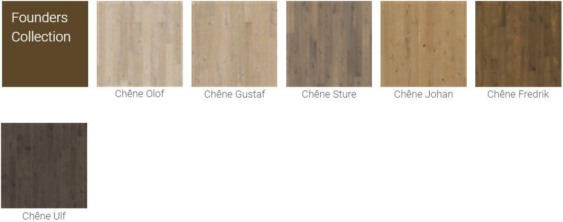 Finitions pour Parquet Kahrs Original Founders Collection pour plancher chauffant