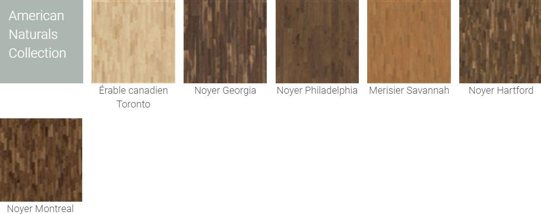 Finitions pour Parquet Kahrs Original American Naturals Collection pour plancher chauffant