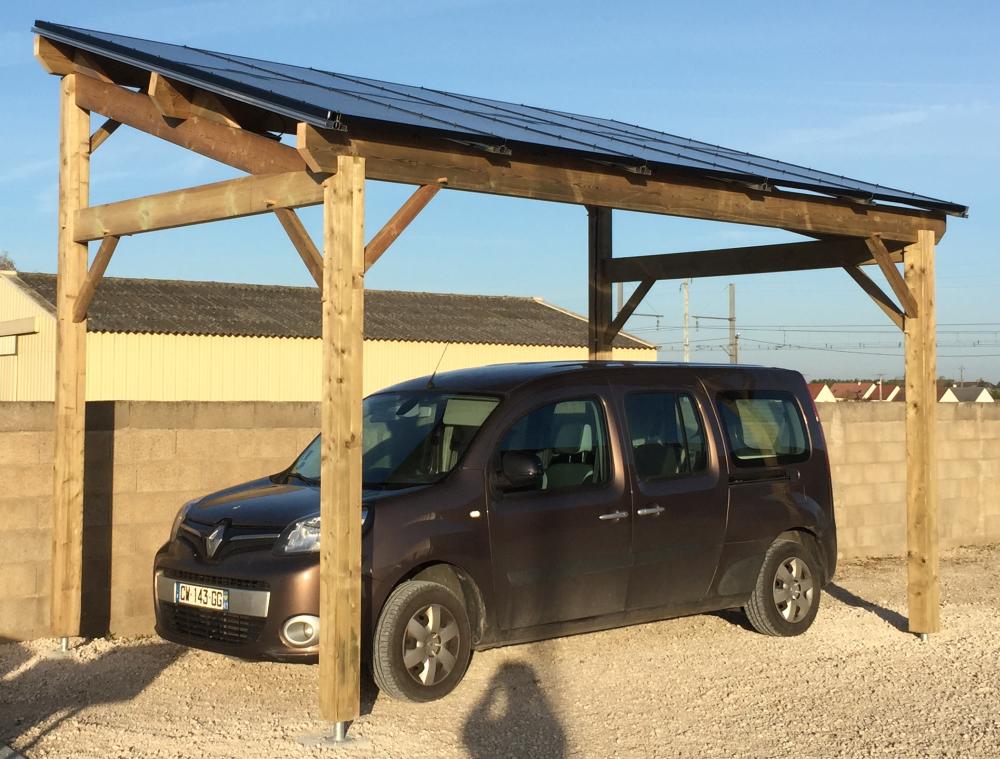 Carport solaire photovoltaïque