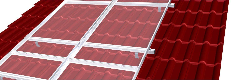 installation de panneau solaire hybride sur toiture en ardoises