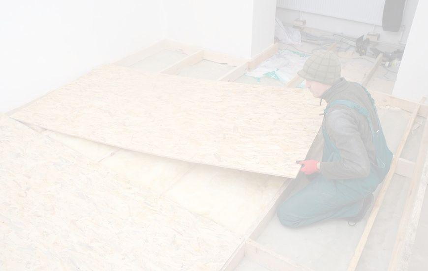 plancher chauffant sur plancher bois le plancher chauffant par caleosol. Black Bedroom Furniture Sets. Home Design Ideas