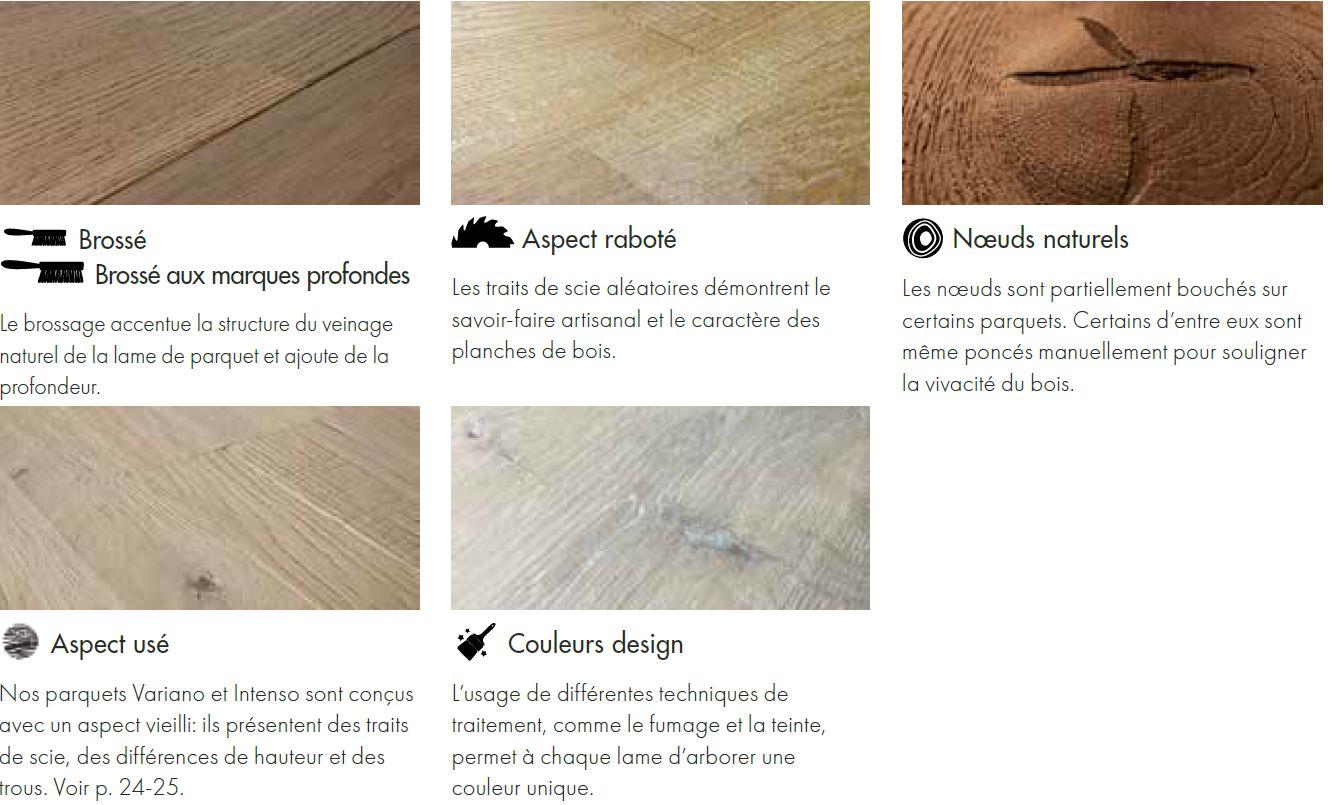 Traitement du bois pour parquet Quick Step