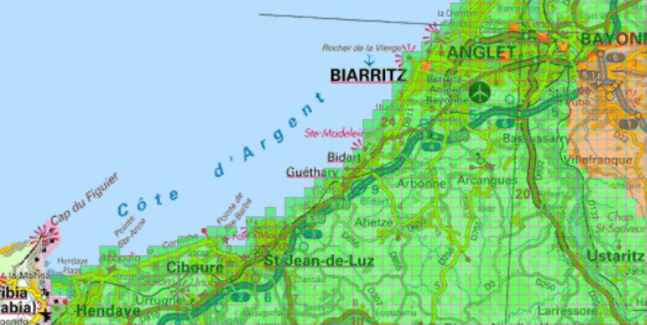 Carte verte orange pour la géothermie à Bayonne