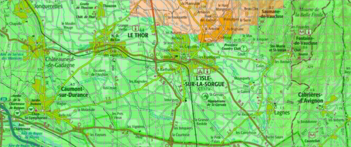 Carte verte orange pour la géothermie à L'Isle-sur-la-Sorgue