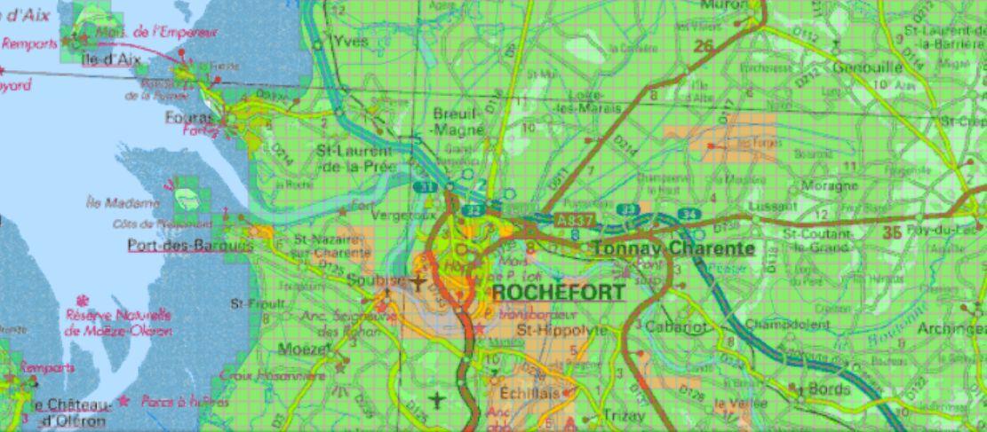 Carte verte orange pour la géothermie à Rochefort