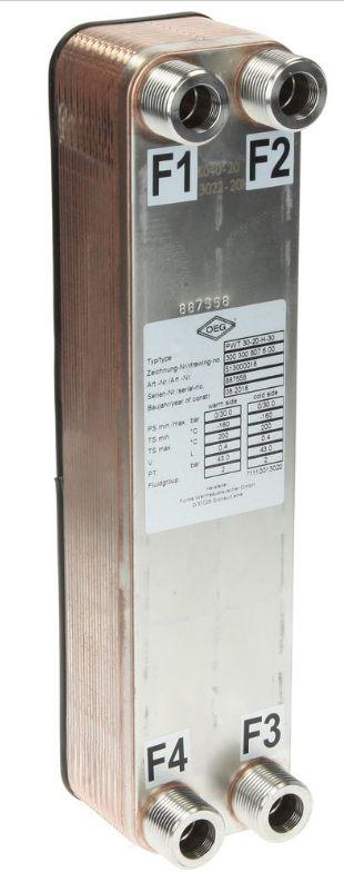 Échangeur à plaque pour climatisation écologique
