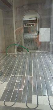 pose - installation de plancher chauffant - chauffage au sol près de Brest