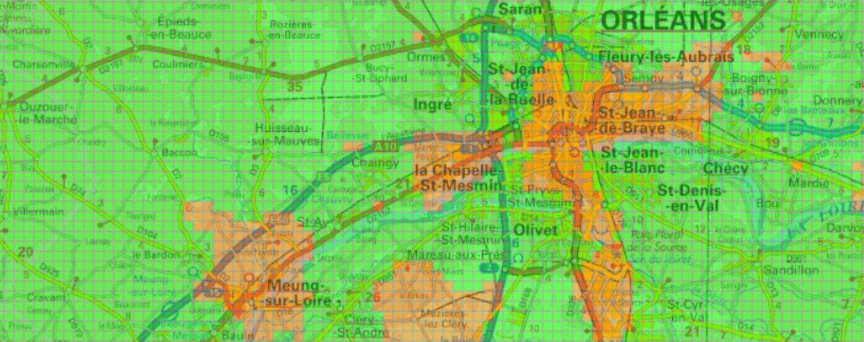 Carte verte orange pour la géothermie à Orléans