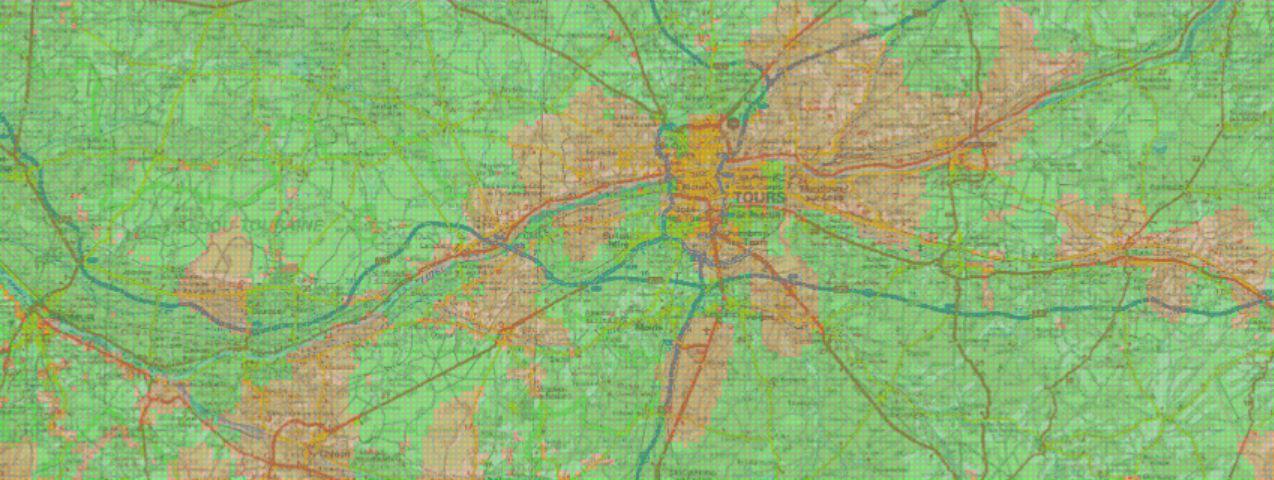Carte verte orange pour la géothermie à Tours